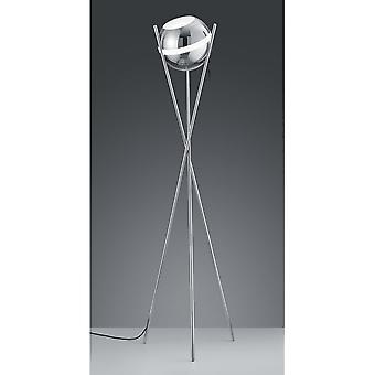 Трио, освещение шар современный хром металлический торшер