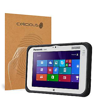 Celicious Impact Anti-Shock Shatterproof Screen Protector Film Compatible with Panasonic Toughpad FZ-M1