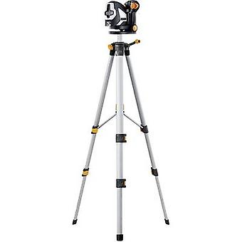 Laserliner SuperCross-Laser 2P RX Set 150 Cross line laser Self-levelling, Incl. tripod Range (max.): 20 m Calibrated t