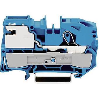 N terminal 12 mm Pull spring Configuration: N Blue