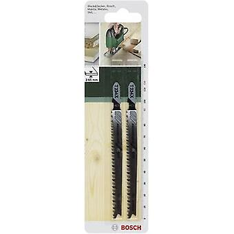 Jigsaw blade HCS, T 234 X Bosch Accessories 2609256727 2 pc(s)