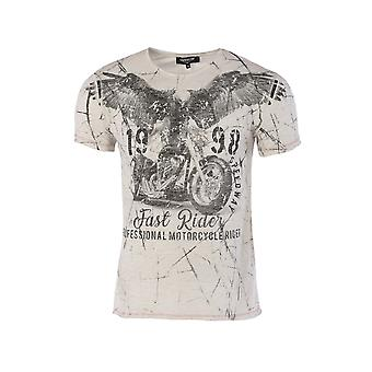 Short sleeve t-shirt Light grey 4479 Carisma Man