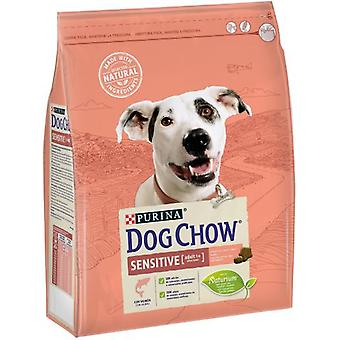 Dog Chow Sensitive with Salmon (Dogs , Dog Food , Dry Food)
