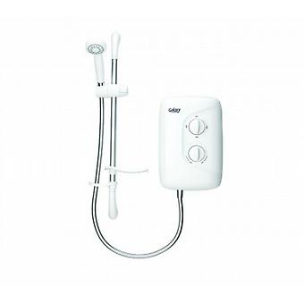 Galaxy Aqua 2000m 8.5kw White And Chrome Electric Shower