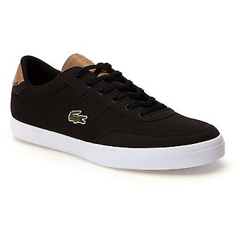 Lacoste Court-Master 118 Suede Knit Trainers