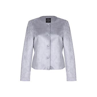 Suedette Crop Jacket