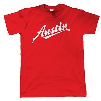 Austin T-Shirt-Mini Cooper A40 A7 Cambridge Retro-Klassiker der 70er Jahre 80er Jahre