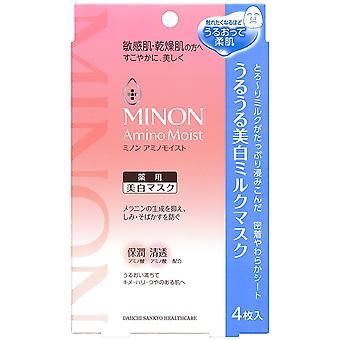 Daiichi-Sankyo Minon Amino Whitening Face Mask 4sheets