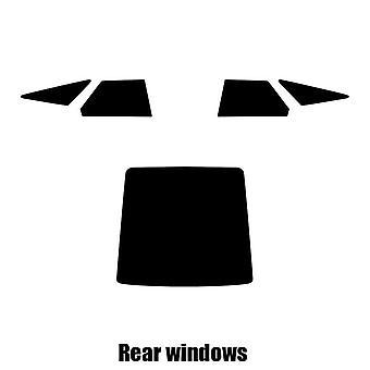 Pre gesneden venster tint - Rover 800 5-deurs Hatchback - 1992 tot en met 1999 - achterzijde windows