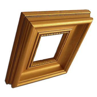 8x10 cm, fotoram i guld