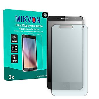 Alcatel Pop 4 Screen Protector - Mikvon Clear (Retail Package with accessories)
