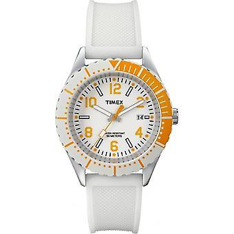 Ladies' White Modern Sport Watch