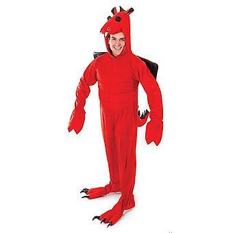 Roter Drache Kostüm Erwachsene