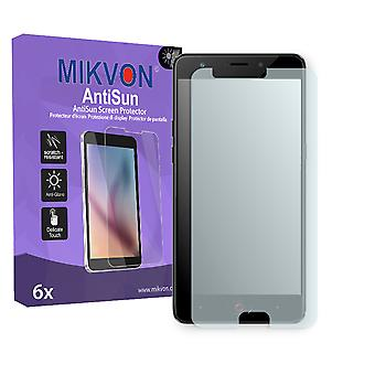 Nubia M2 Play Screen Protector - Mikvon AntiSun (Retail Package with accessories) (reduced foil)
