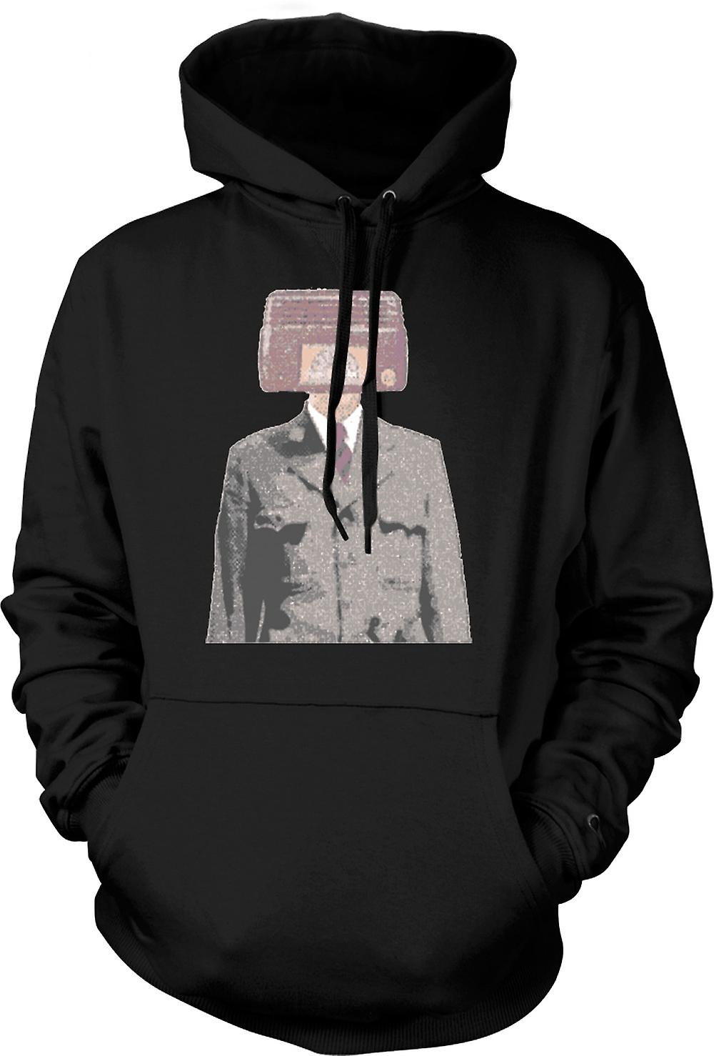 Barn Hoodie - Radiohead - Pop Art - Design