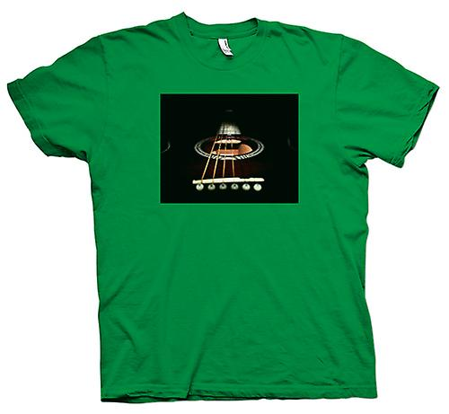 Mens T-shirt - Acoustic Guitar Strings