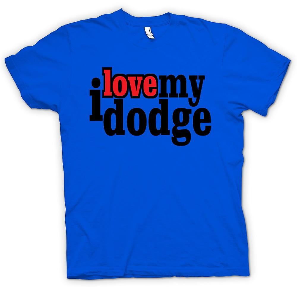 Herren T-shirt - I love meine Dodge - Auto-Enthusiasten