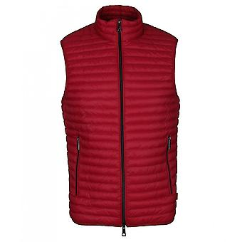 Emporio Armani 8n1bb2 Emporio Red Padded Gillet