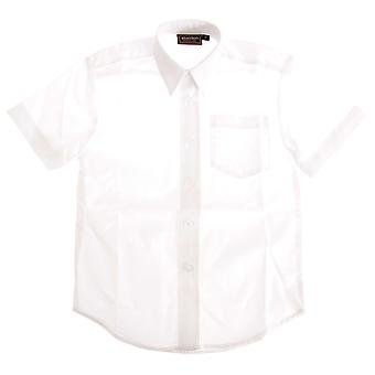 Boys Short Sleeved School Shirt