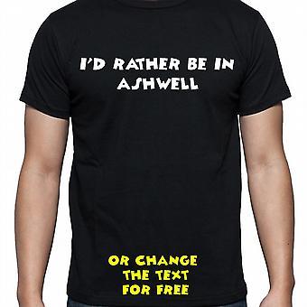 Ik had eerder worden In Ashwell Black Hand gedrukt T shirt