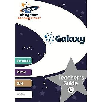 Reading Planet Galaxy Teacher's Guide C (Turquoise - White) - Rising Stars Reading Planet