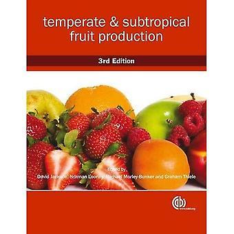 Tempererade och subtropiska fruktproduktion