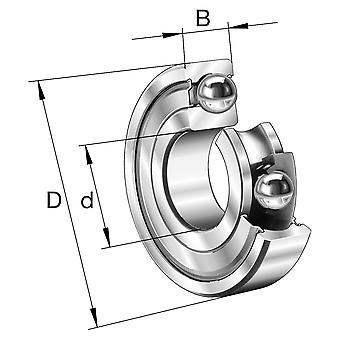 Fag 629-C-2Z Mini Pop Deep Groove Ball Bearing