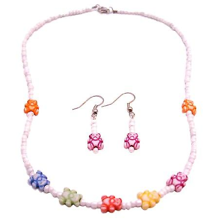 Cheaper Than Wholesale Girls Creative Jewelry White Beaded Necklace