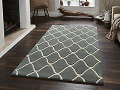 ÉléHommests EL65 tapis bleu Rectangle tapis Plain presque ordinaire