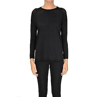 Seventy Black Viscose Sweater