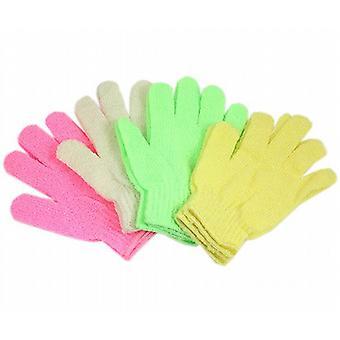 New Exfoliating Massage Gloves (Pair Gloves)