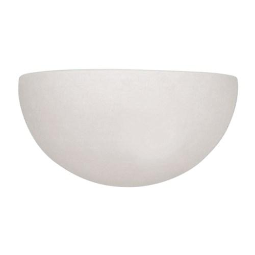 Endon UG-WB-A Unglazed Ceramic Wall Uplighter - Over Paintable