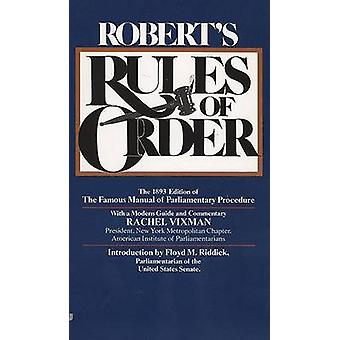 Robert's Rules of Order by Henry M Roberts - 9780515090321 Book