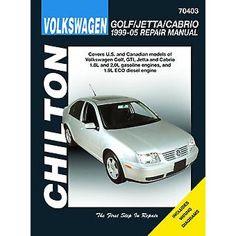 VW Golf GTi Automotive Repair Manual - 99-05 by Jay Storer - 978156392