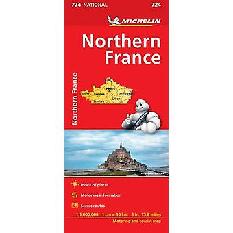 Northern France Map 724 - 2018 by  - 9782067228726 Book