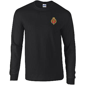 Welsh Guards - Licensed British Army Embroidered Long Sleeved T-Shirt