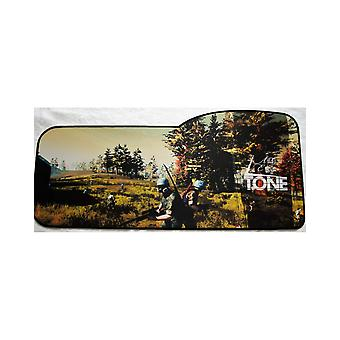 Patterned E-Sports Keyboard mouse pad, size: 73x33/28 cm