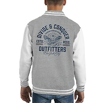 Divide & Conquer Outfitters New York Kid's Varsity Jacket