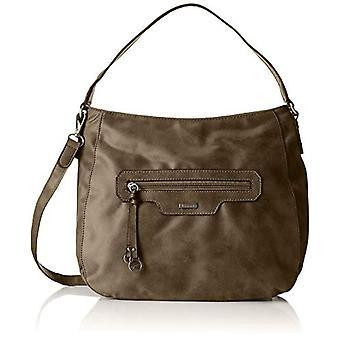 Tamaris Jolanda Hobo Bag S-Green Donna axelväskor (khaki) 11.5 x27x36 cm (b x H L)