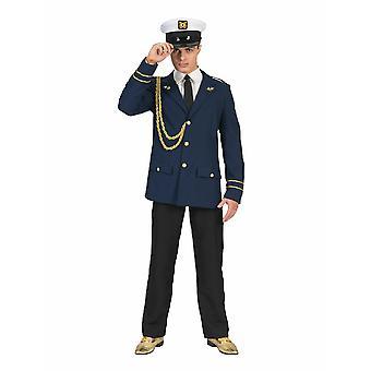 Capitano Fietje Sailor Costume Uomo Uomo Marine Costume da Uomo