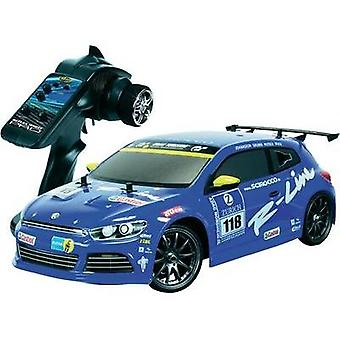 Carson Modellsport VW Scirocco 1:10 RC model car Nitro Road version 4WD RtR 2,4 GHz