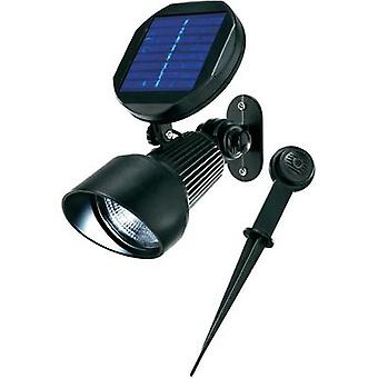 Solar spotlight Cold white Esotec 102138 Solar Spotlight Black