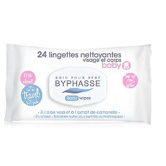 Byphasse Baby wipes 24 units Pop Up (Children , Cosmetics , Baby Products , Nappy Creams)