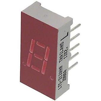 Seven-segment display Red 7.65 mm 2 V No. of digits: 1 Lite-On