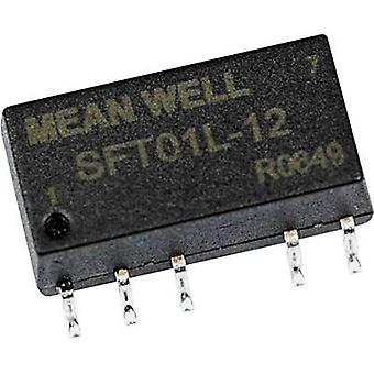 DC/DC converter (SMD) Mean Well 5 Vdc 15 Vdc 67 m
