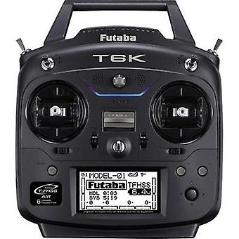 Futaba T6K Handheld RC 2,4 GHz No. of channels: 6
