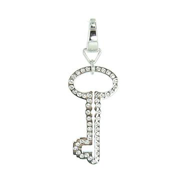 Fossil pendants charms JF00030040 key Zyrkonia