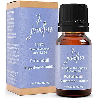 Patchouli æteriske olie - Pogostemon Cabli - 100% ren stemning forstærker