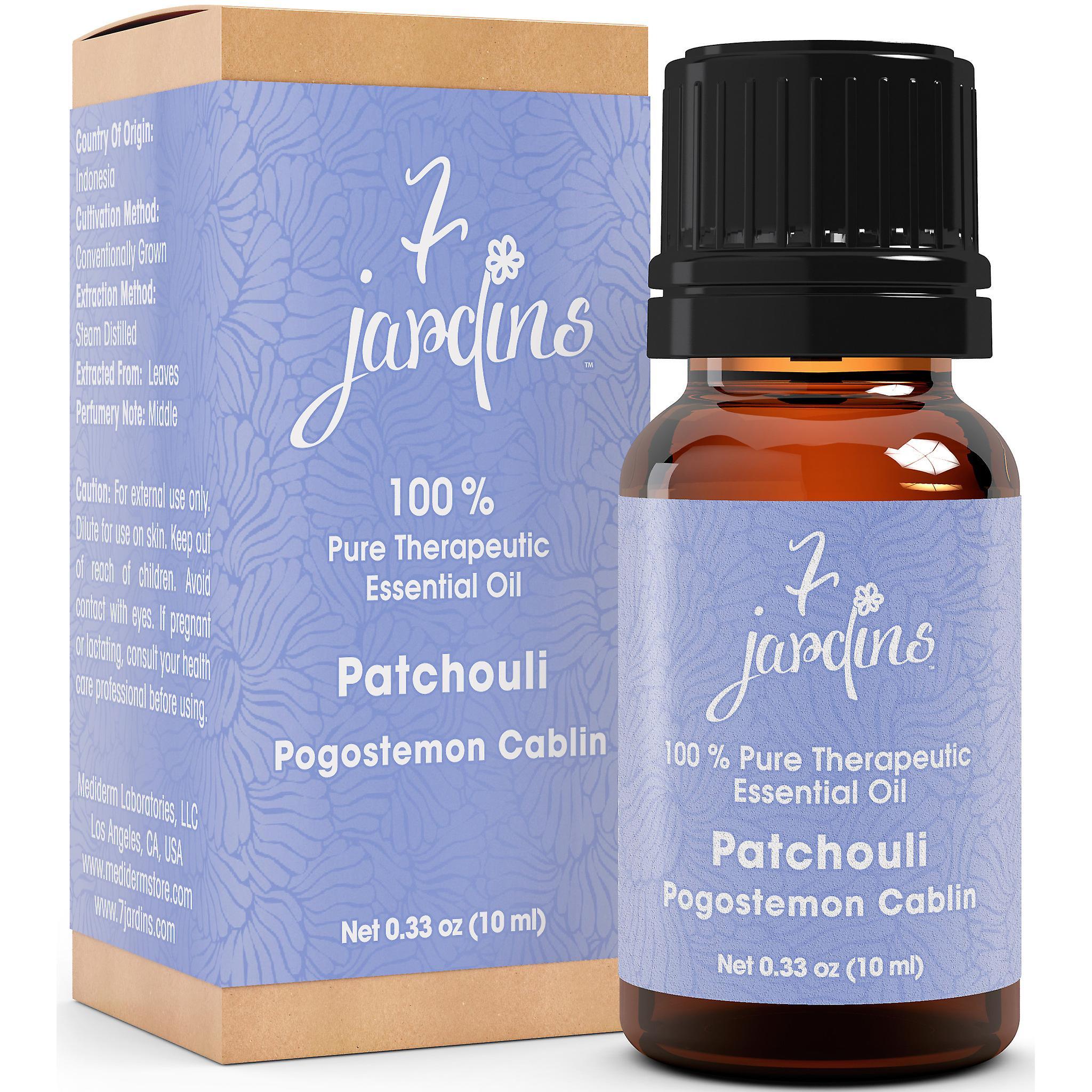 Patchouli ätherisches Öl - Pogostemon Cabli - 100 % reine Stimmungsaufheller