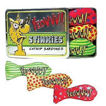 Yeowww Sardinetin av 3 Stinkies